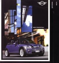 2004 Mini COOPER convertible sales brochure catalog US 04 S - $10.00