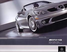 2005 Mercedes-Benz AMG brochure catalog C CL CLK E G S SL - $12.00