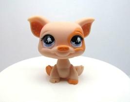 Littlest Pet Shop #885 Peach Pig with Polka Dot Ears & Purple Splatter Eyes  LPS - $6.52