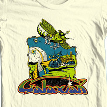 Galaxian T-shirt vintage retro 80s arcade video game tee heather blue tee image 2