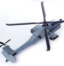 Academy 12129 AH-64A ANG South Carolina Plastic Attack Helicopter Hobby Model image 6