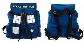 Bioworld Doctor Who TARDIS Knapsack Backpack 14 X 17in - $66.38