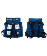 Bioworld Doctor Who TARDIS Knapsack Backpack 14 X 17in - $66.38