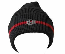Billionaire Mafia Bm Chill Watchcap Negro Rojo Gorro Invierno