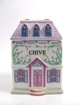 The Lenox Spice Village Fine Porcelain Spice Jar 1989 Chive Replacement - £8.06 GBP