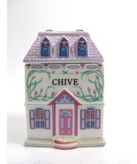 The Lenox Spice Village Fine Porcelain Spice Jar 1989 Chive Replacement - $13.87 CAD