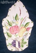 "Blue Ridge Southern Pottery Fruit Basket Porcelain Dish 10 1/4"" - $54.95"