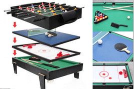 4 in 1 Multi Game Table Pool / Air Hockey / Table Tennis / Table Soccer - $348.47