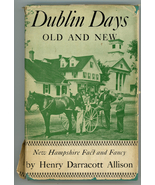 Dublin Days Old & New NH Allison book first edition historu vintage  - $22.00