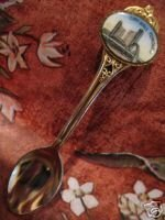 CITY HALL TORONTO Ontario ENAMEL Souvenir Spoon