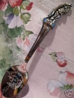 ATLANTIC FISHERMAN Figural Canada Souvenir Spoon