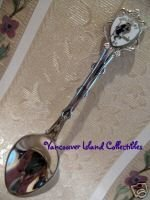 UCLUELET BC. British Columbia Collector Souvenir Spoon