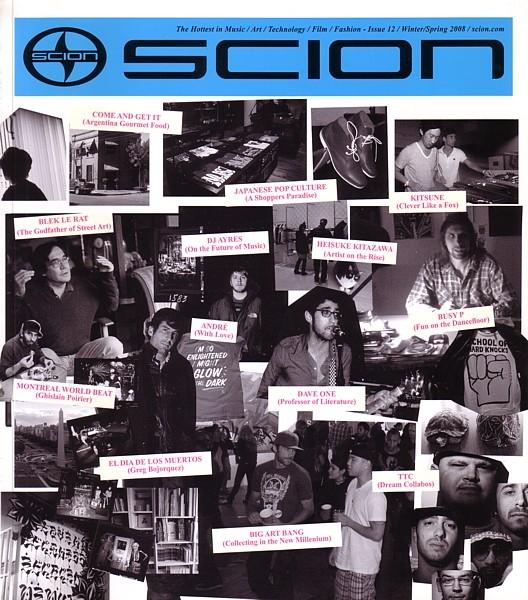 2008 Scion xB xD tC brochure catalog magazine ISSUE 12 ist