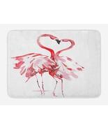 Flamingo Doormat Flamingo Couple Kissing Romance Passion Partners Love V... - $24.60
