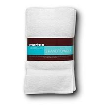 COMMERCIAL PREMIUM 12 PIECE HAND TOWEL SET BY MARTEX - 12 Hand Towels, H... - $45.08