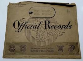 Original WWII War Navy Department Large Envelop Letters Cover 1945 Ruptu... - $23.36