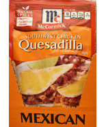 12 McCormick Southwest Chicken Quesadilla Seasoning Mix No MSG   12 PACKS  - $23.99