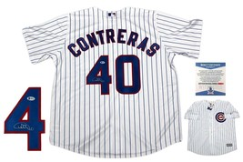 Willson Contreras Autographed Signed Chicago Cubs Majestic Jersey - Beckett - $237.59
