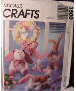 Rabbit Doll Sewing Pattern 3500 Bunny Hop Easter - $5.99