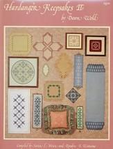 Hardanger Keepsakes II Dawn Wold Embroidery Pattern Booklet - $5.37