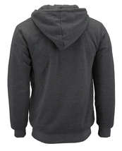 Men's Texas Embroidered Sherpa Lined Warm Zip Up Fleece Hoodie Sweater Jacket image 3