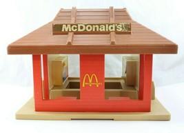Vintage Playskool Mcdonald's Restaurant Playset Little Square People Blockheads - $14.99