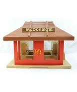 Vintage Playskool Mcdonald's Restaurant Playset Little Square People Blo... - $14.99
