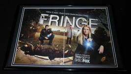 Fringe 2009 Fox Framed ORIGINAL 12x18 Advertising Display Anna Torv - $45.45