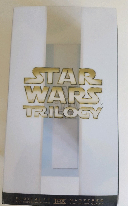 Star Wars Trilogy VHS 2000 THX Digitaly Mastered Fox  A New Hope Return of the J