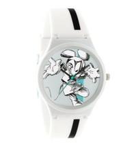 Flud Weiß Mickey Mouse Disney Prologue Sketch II Uhr Neu Offiziell Lizenziert
