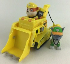 Paw Patrol Rubbles Diggin Bulldozer Figures Vehicles Spin Master 2019 with Rocky - $19.75