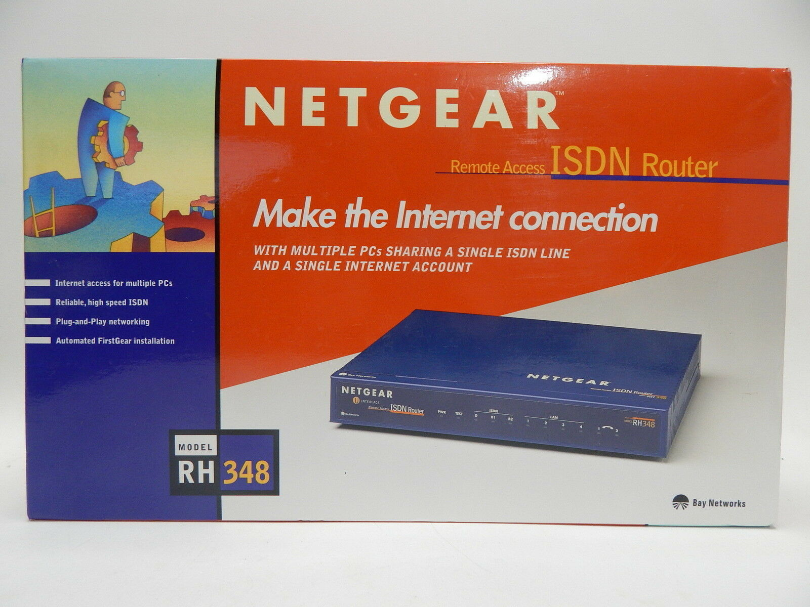Netgear Remote Access Isdn Router New Sealed and 50 similar