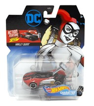 Hot Wheels Harley Quinn Action Feature with Smashing Mallet Mint on Card - $14.88