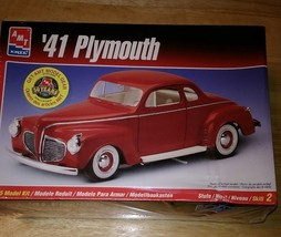 AMT  ERTL 1941 PLYMOUTH COUPE  1/25 Model Car KIT - $12.50