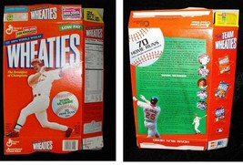 Wheaties Cereal Box Flat Empty Mark McGwire Carndinals 1995 - $16.99