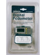 Omron HJ-105 Digital Pedometer Calorie Counter Distance And Step Counter - $17.51