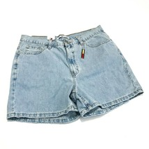 Tommy Hilfiger Womens 14 Vintage Jean Shorts Classic Fit Light Wash 100%... - $39.95