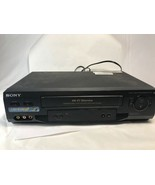 Sony SLV-N51 VHS VCR for Repair or Parts Only. - $12.86