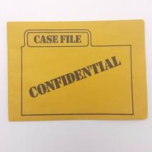 Clue Case File Envelope Confidential Replacement Game Part 1998 - $2.50