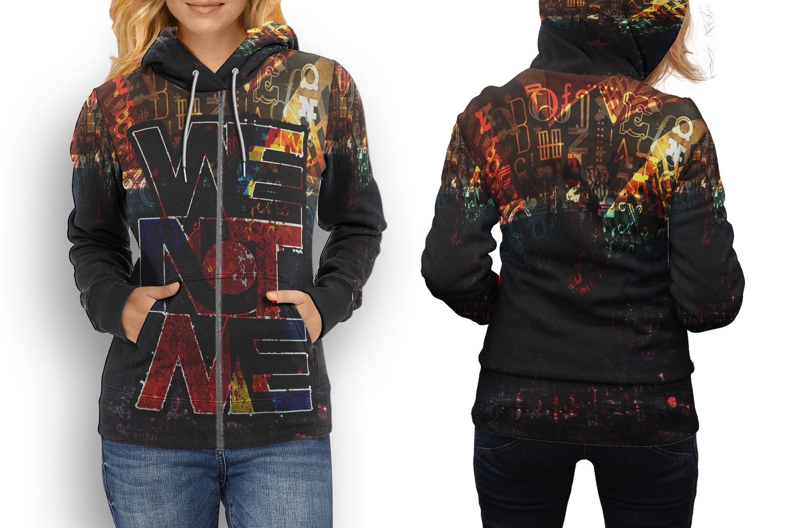 Primary image for Retro Collection #5 Women's Zipper Hoodie