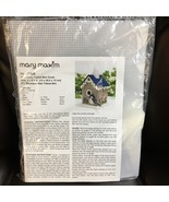 "Mary Maxim Birdhouse Tissue Box Cover Plastic Canvas Kit #17326 - 6"" x 8... - $15.88"