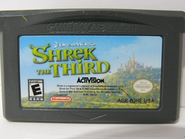 Lot of 3 Game Boy Advance Shrek Games 1-3 | Tested and Working | CARTRIDGE ONLY image 2