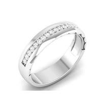 1.0Ct Classic Diamond Vintage Channel Set Wedding, Anniversary Band 10kt... - $98.99