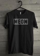 Meow Cat Fashion Pop Culture - Custom Men's T-Shirt (780) - $19.13+