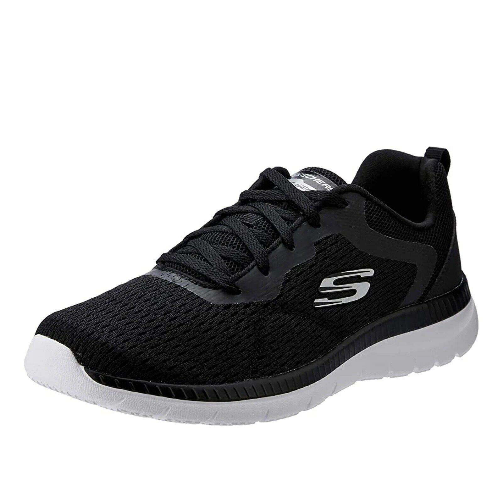 Primary image for SKECHERS Bountiful - Quick Path Women's Athletic Sneakers 12607 BLACK / WHITE