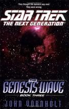 The Genesis Wave Book Three (Star Trek: the Next Generation) Vornholt, John - $23.47