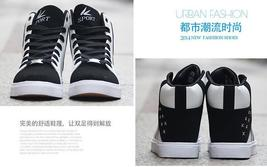 Casual H1 Men 1 Shoes Men England Shoes Black High Shoes Bang Teen f0S4xq