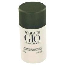 Acqua Di Gio By Giorgio Armani Deodorant Stick 2.6 Oz 416538 - $40.69