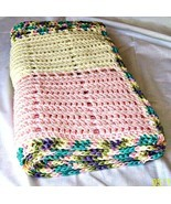 Baby Blanket, Crochet, Handmade, Lap Blanket, Throw Blanket, Baby Beddin... - $55.00