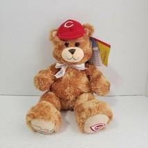 "Build A Bear Cincinnati Reds Great American Ballpark 14"" Plush  2006. Torn Tag - $12.86"